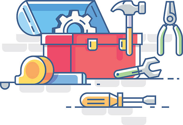 Best Toolbox Illustrations, Royalty-Free Vector Graphics ...