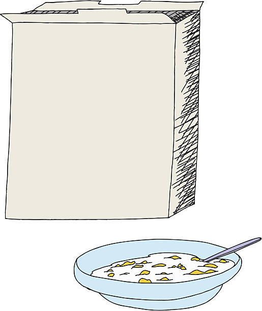 Royalty Free Cereal Box Clip Art Vector Images