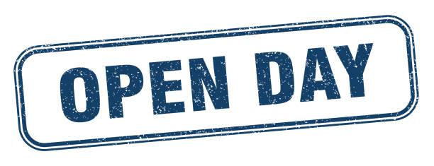Open Day Illustrazioni e vettori stock - iStock