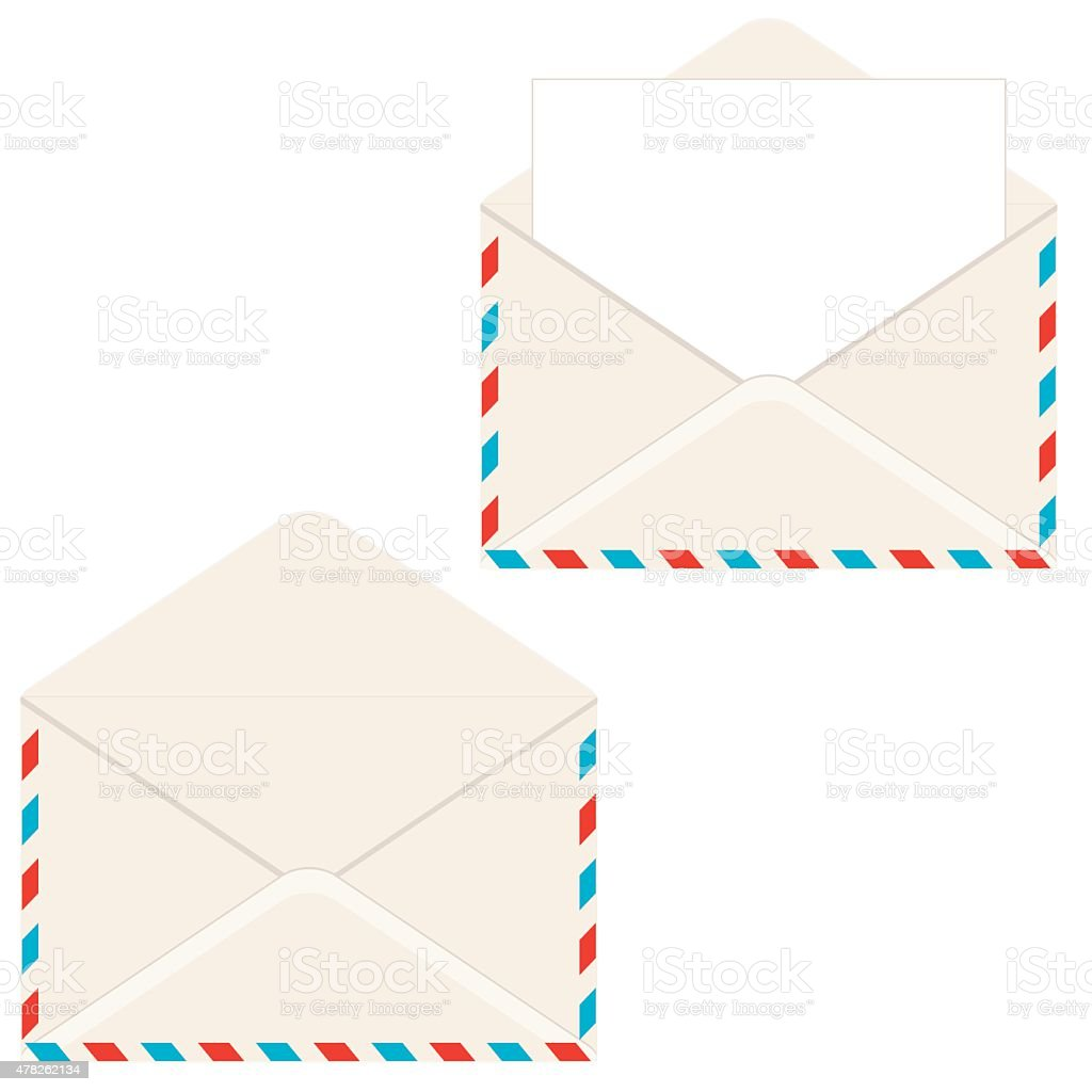 open envelope with letter royalty free open envelope with letter stock vector art