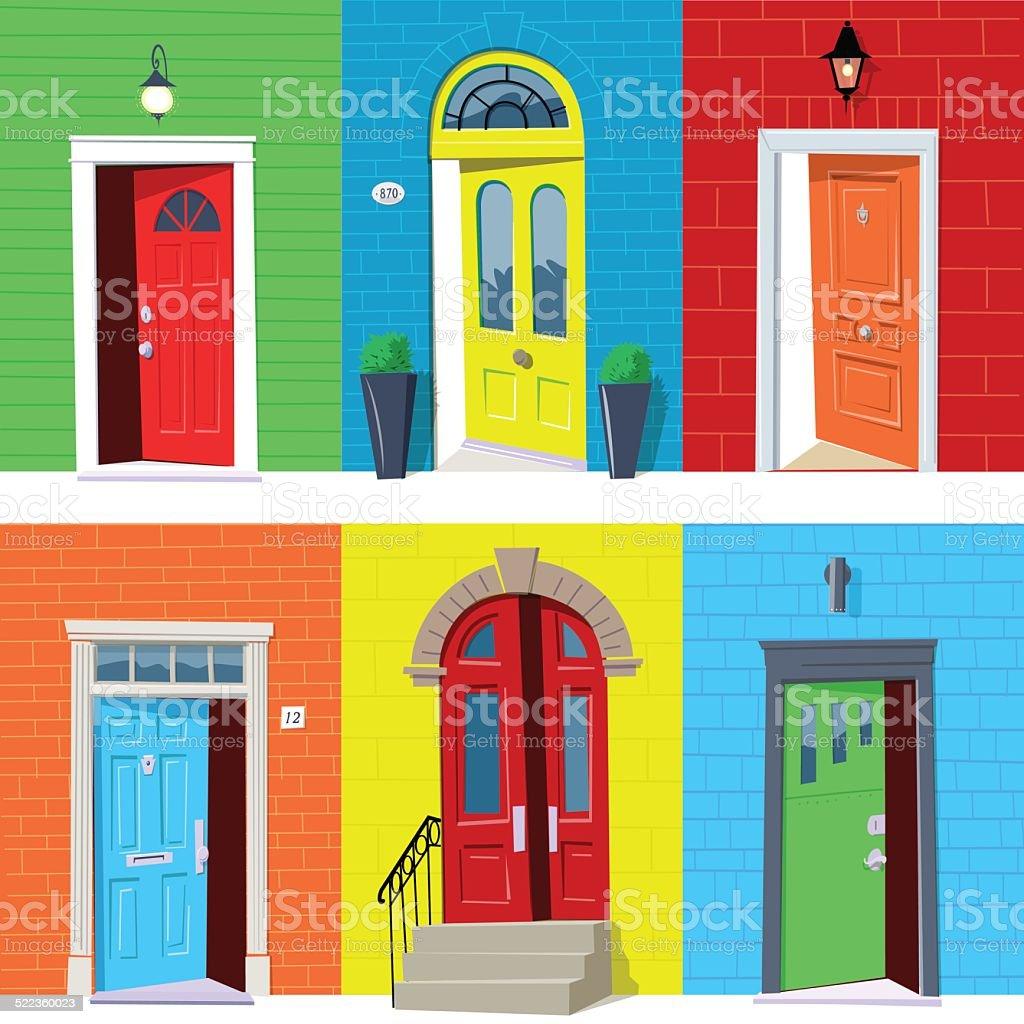 open front door illustration shutterstock open front doors vector art illustration royalty free door clip art vector images illustrations istock