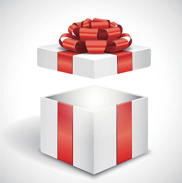 Royalty Free Gift Box Clip Art, Vector Images ...