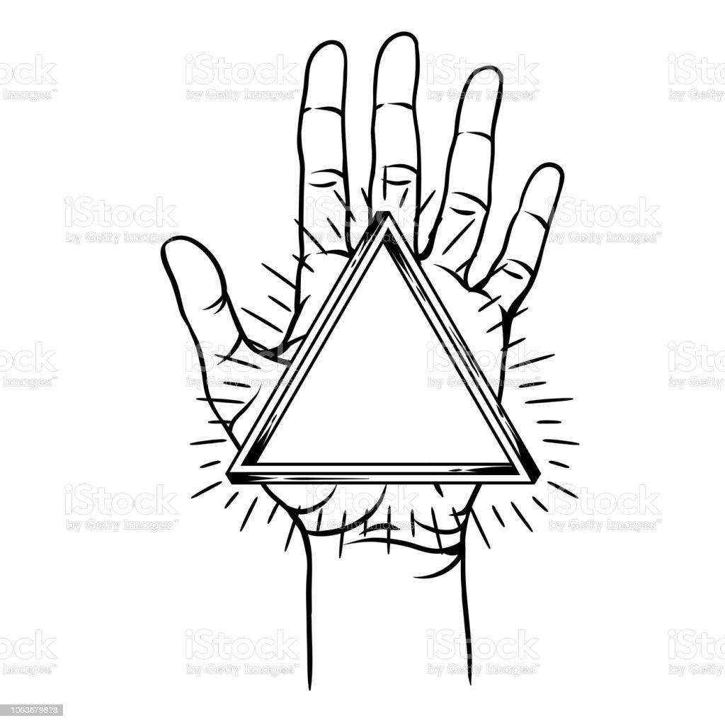 手の形 イラスト
