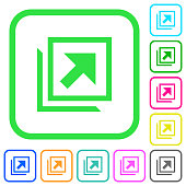 Open in new window vivid colored flat icons