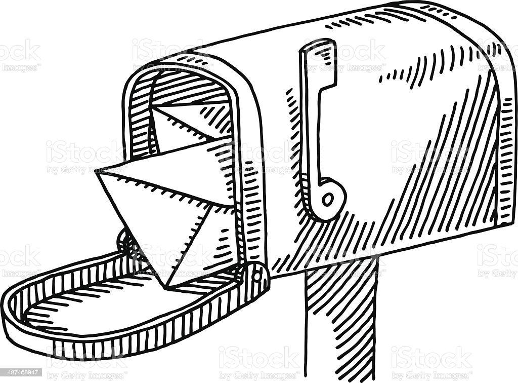 royalty free mailbox clip art vector images illustrations istock rh istockphoto com valentine mailbox clipart cartoon mailbox clipart