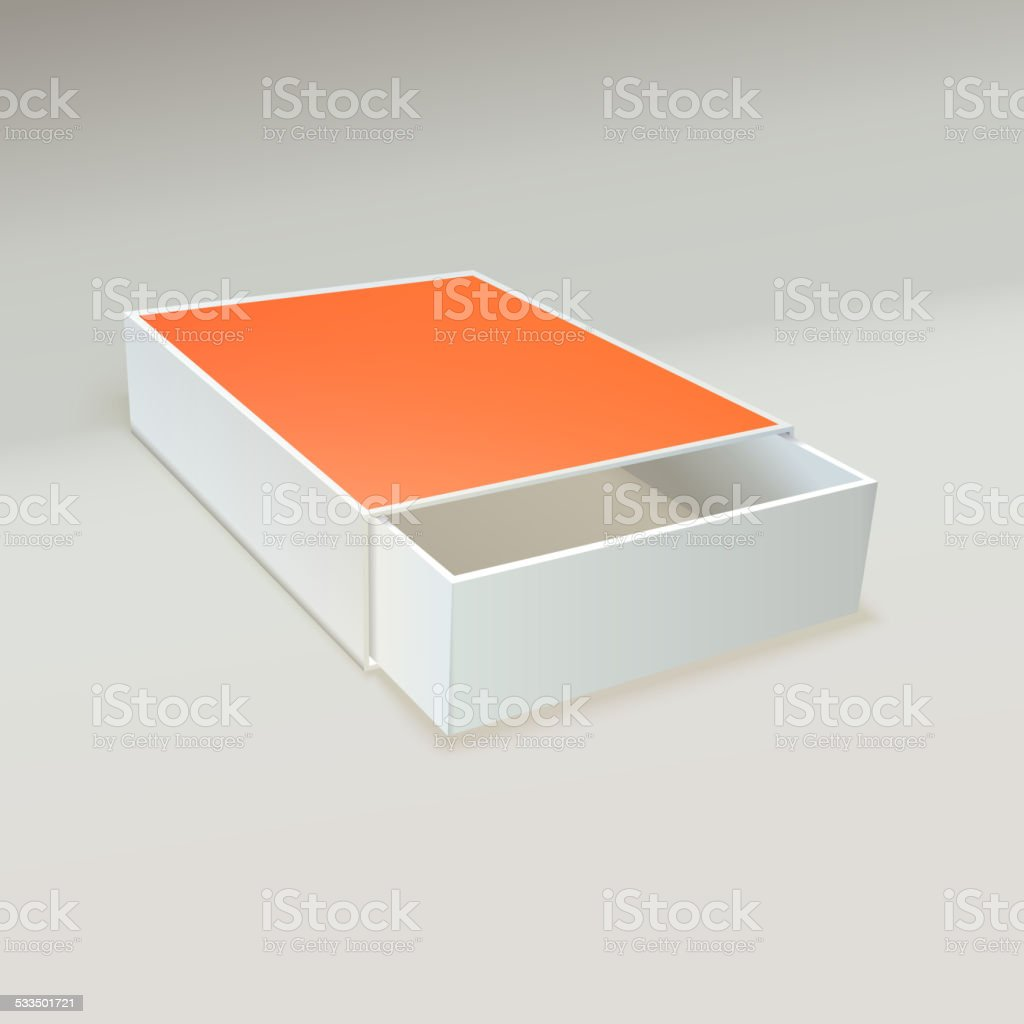 Open Matchbox With Blank Label Stock Vector Art & More Images of ...