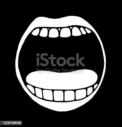 istock Open Mouth 1328189039