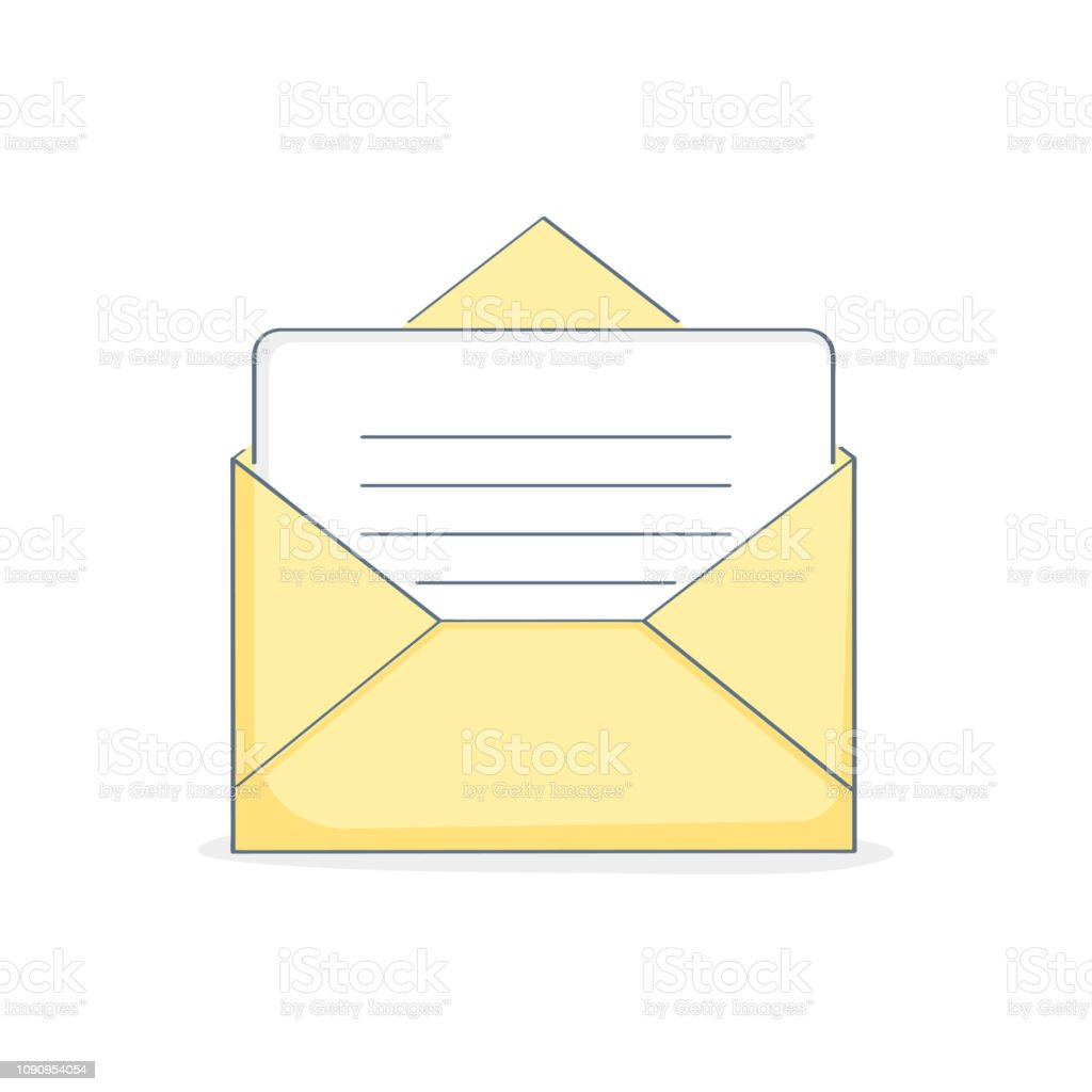 Open New Email, Email, open letter, Inbox message, sms, Mail...