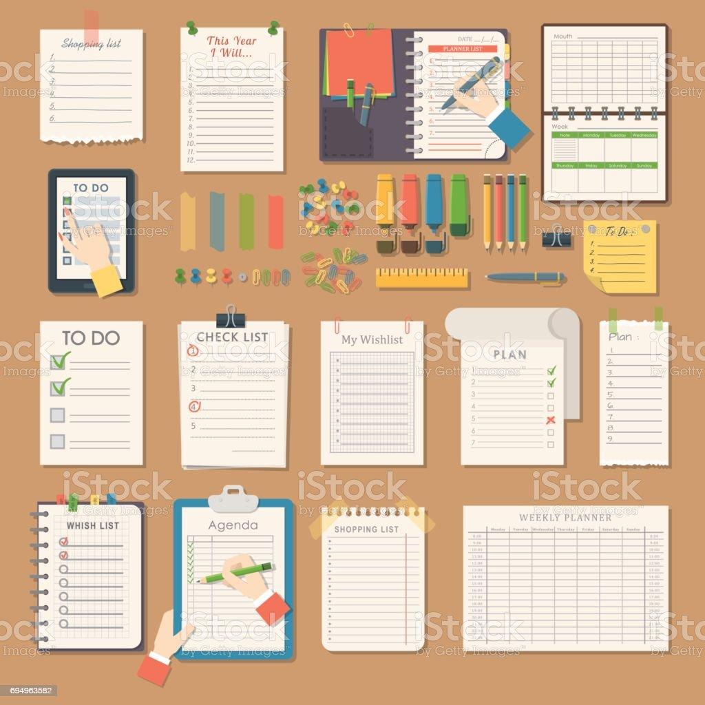 Cuadernos Abiertos Limpiar Páginas Diario Plantilla Folleto En ...