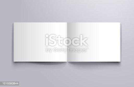 blank empty magazine brochure mockup design