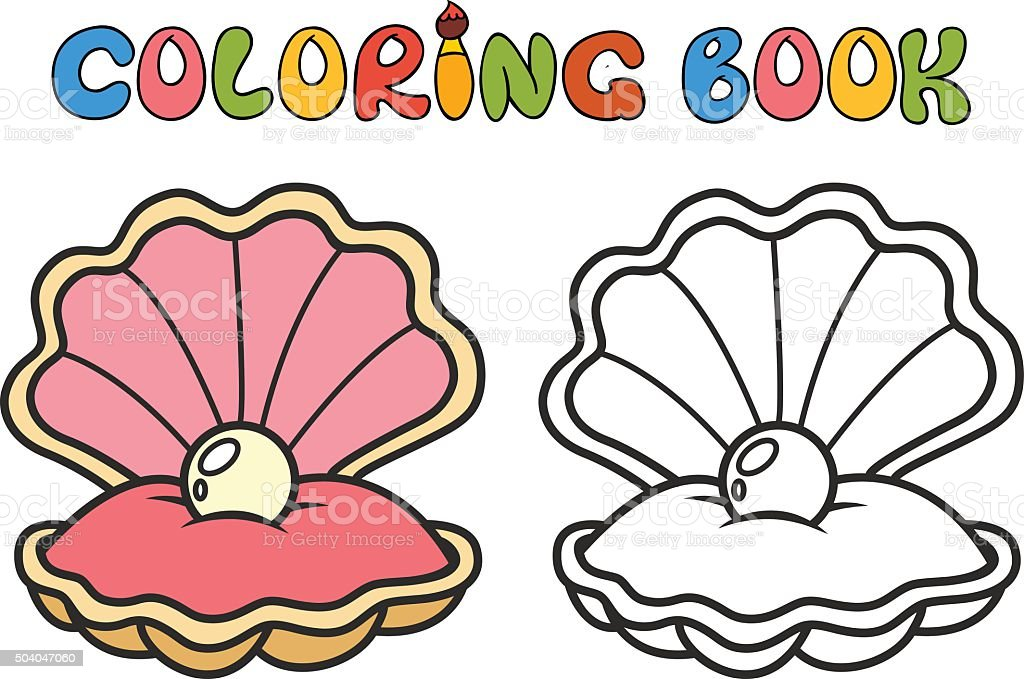 royalty free open clam shell clip art vector images illustrations rh istockphoto com clipart clam shell clam clipart free