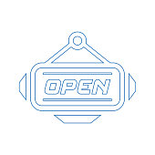 Well organized and fully editable Open sign, shop, store opened icon for any use like print media, web, stock images, commercial use or any kind of design project. Hope this icon help you. Thanks for using it.