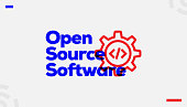 istock Open Source Software Concept Design 1086881954
