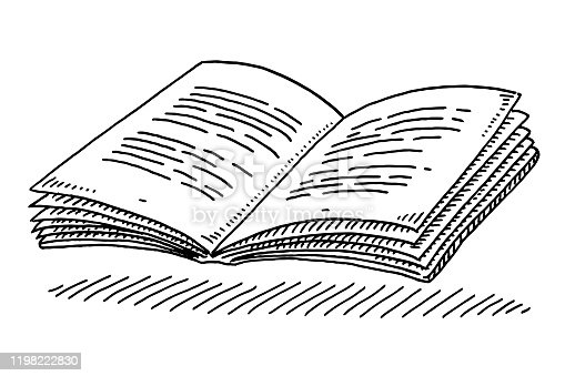 istock Open Textbook Drawing 1198222830