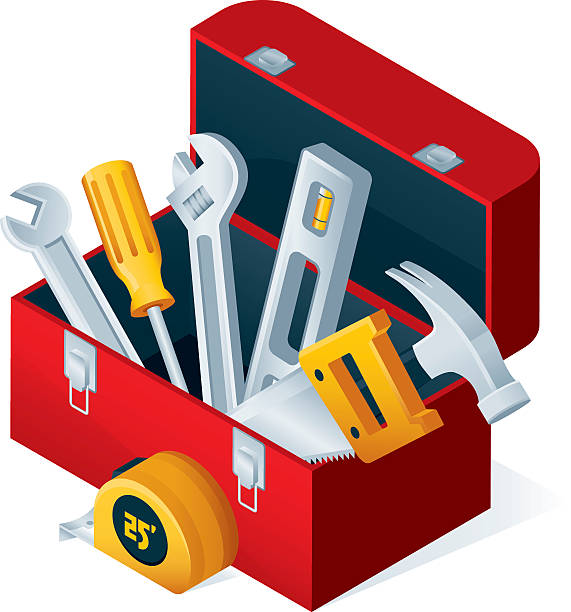 Royalty Free Toolbox Clip Art Vector Images