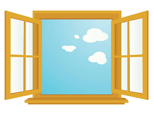 Best Open Window Illustrations, Royalty-Free Vector ...