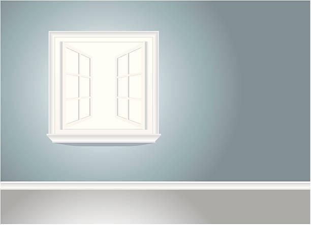 Fenster offen vektorgrafiken und illustrationen istock for Fenster offen
