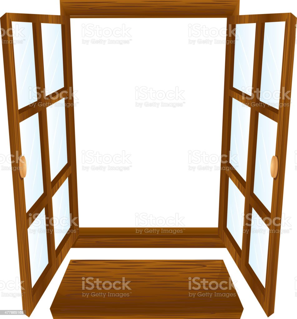Open window royalty-free open window stock vector art & more images of cut out