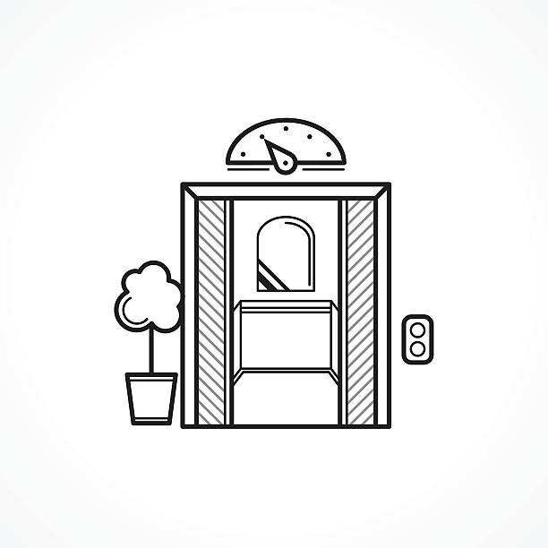 Best Vintage Elevator Illustrations, Royalty-Free Vector ...