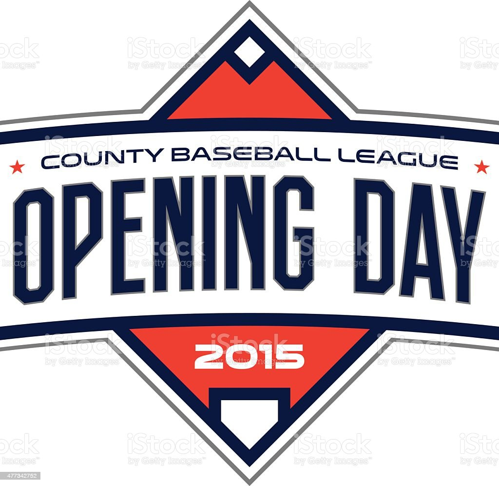 Opening Day royalty-free opening day stock vector art & more images of 2015