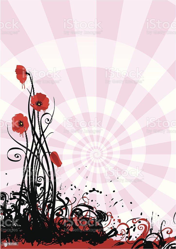 Opium royalty-free stock vector art