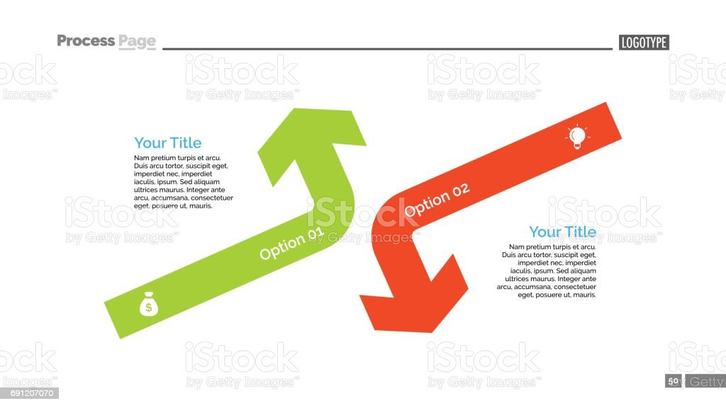 Opposing arrows diagram slide template arte vetorial de stock e opposing arrows diagram slide template opposing arrows diagram slide template arte vetorial de stock e ccuart Images
