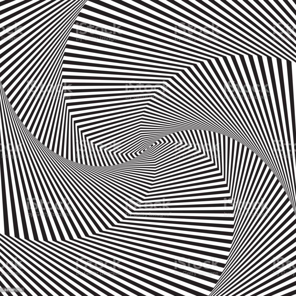 Art Optique Fond Dillusion Doptique Fond Géométrique Moderne