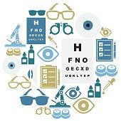 Optical Icon Set