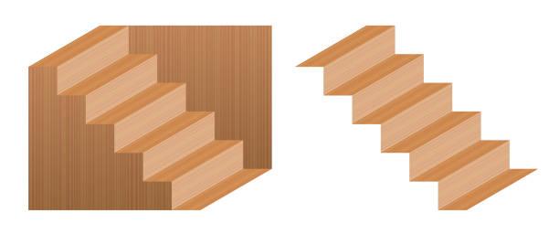 treppe optische t uschung vektorgrafiken und. Black Bedroom Furniture Sets. Home Design Ideas