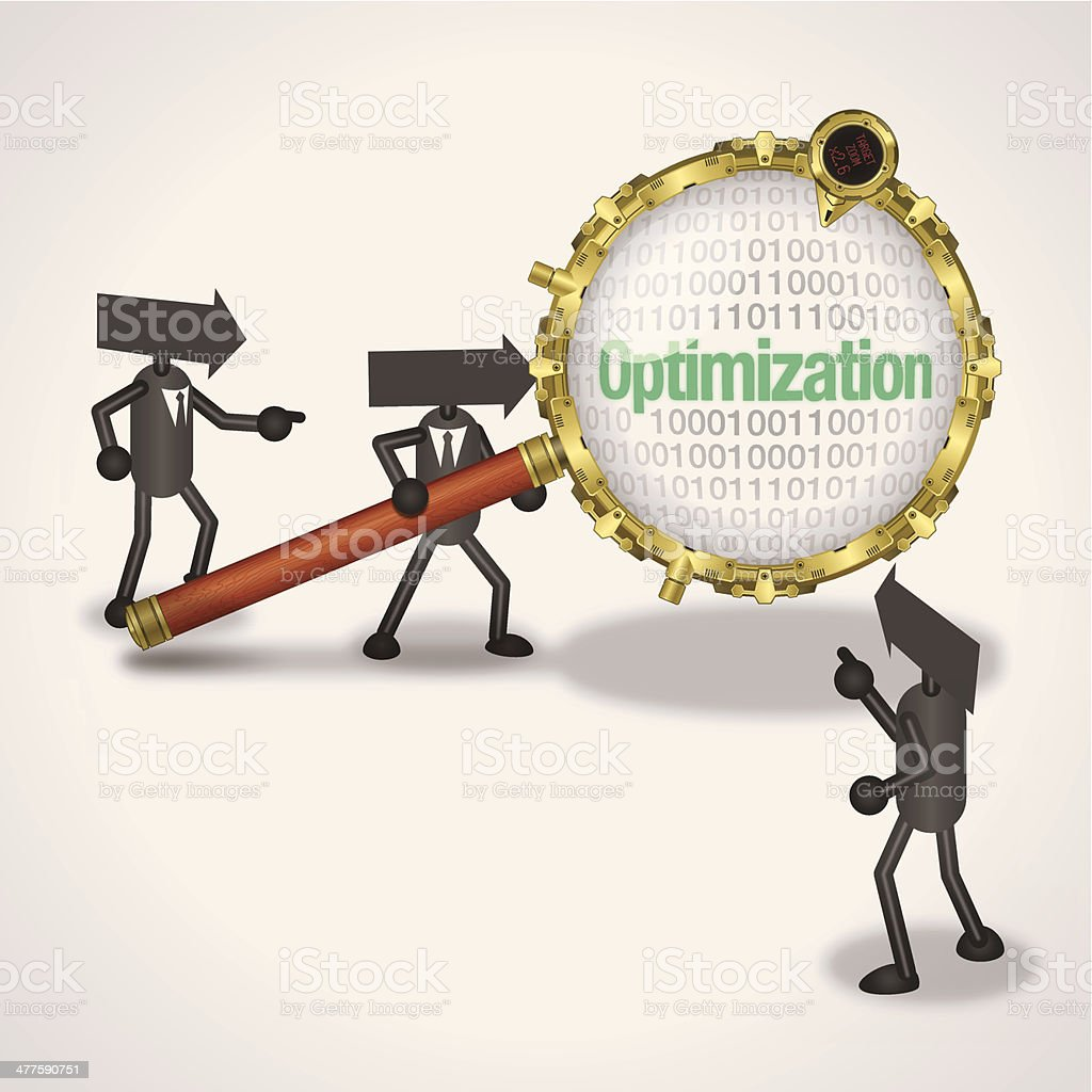 Optimization royalty-free optimization stock vector art & more images of adult