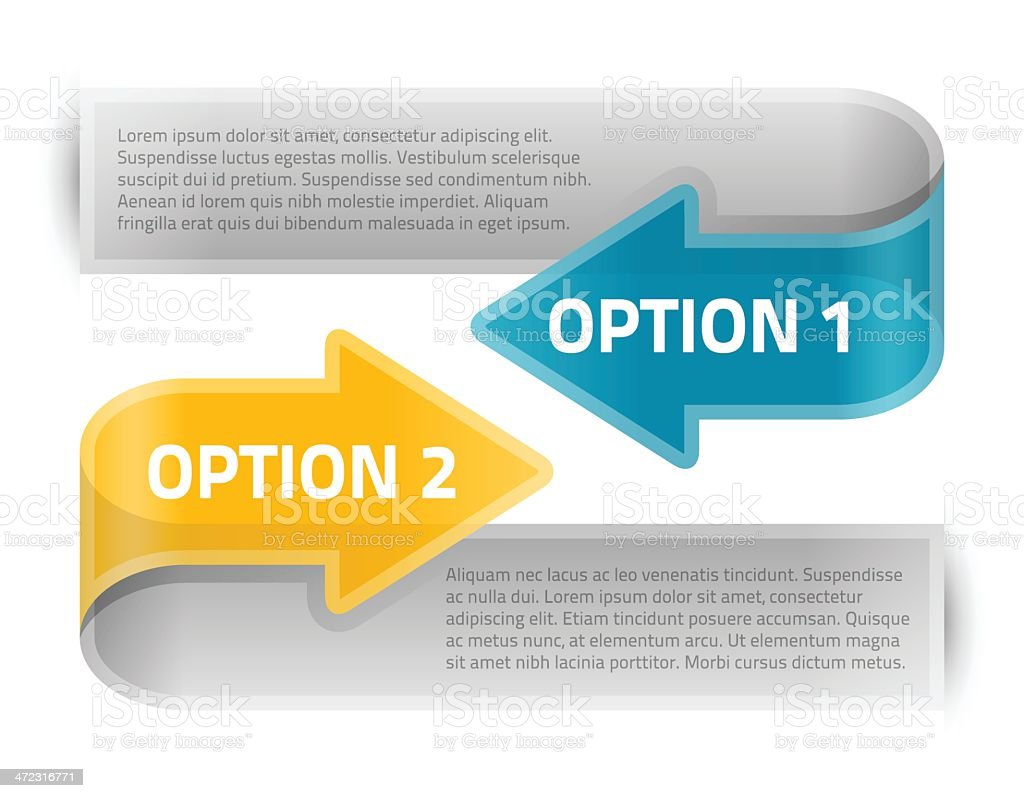 Option Arrows royalty-free option arrows stock vector art & more images of abstract