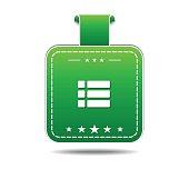 Option Green Vector Icon Design