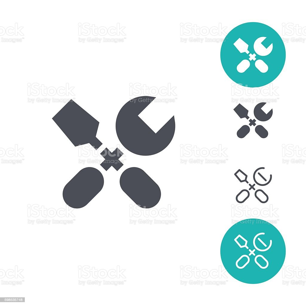 Options icons options icons – cliparts vectoriels et plus d'images de affaires finance et industrie libre de droits