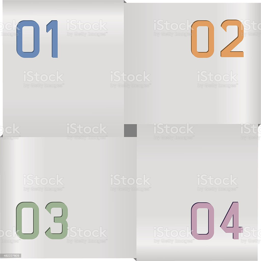 Options royalty-free stock vector art
