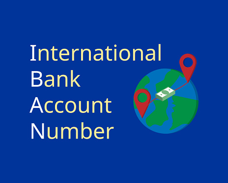 IBAN or International Bank Account Number for EU countries to transfer overseas