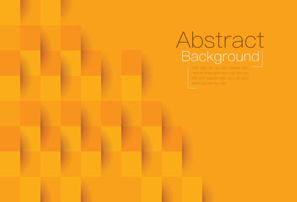 illustrations, cliparts, dessins animés et icônes de orange abstrait vectoriel. - orange couleur