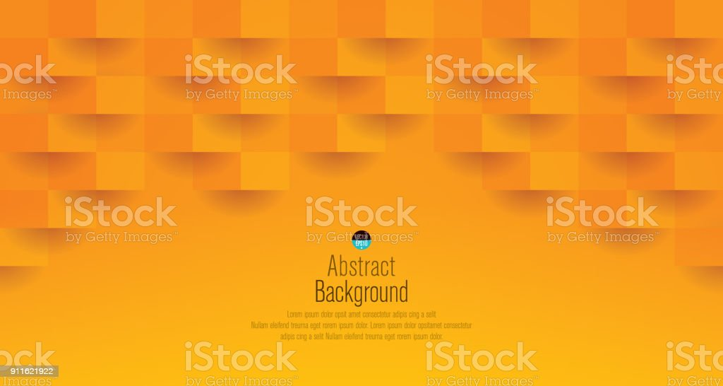 Orange abstract background vector.