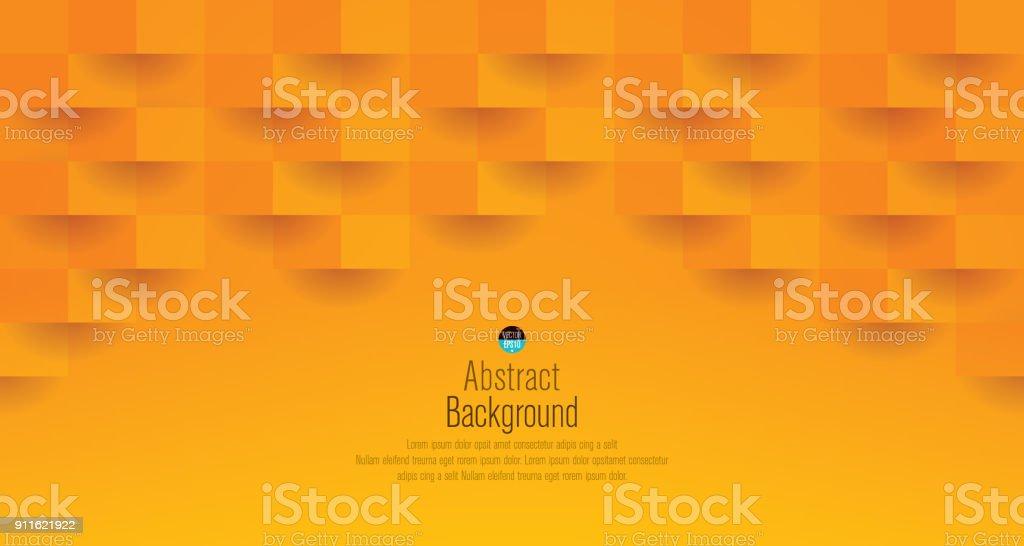 Orange abstract background vector. vector art illustration