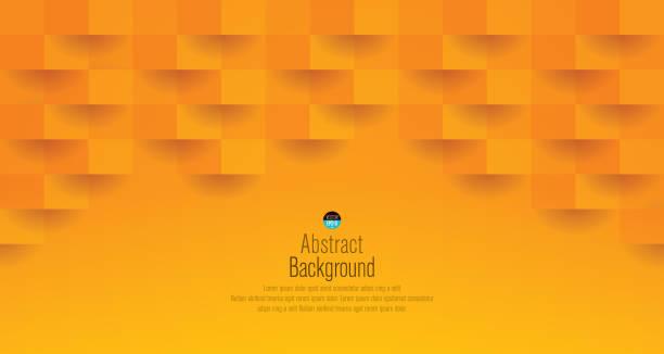 bildbanksillustrationer, clip art samt tecknat material och ikoner med orange abstrakt bakgrund vektor. - orange bakgrund