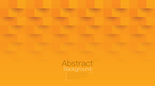 orange abstract background vector. - orange color stock illustrations