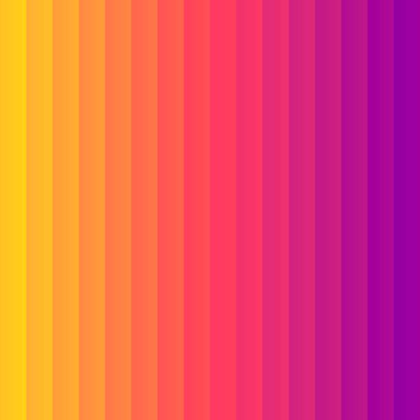 bildbanksillustrationer, clip art samt tecknat material och ikoner med orange abstrakt tonad bakgrund bryts ned till vertikala färg linjer - pink sunrise