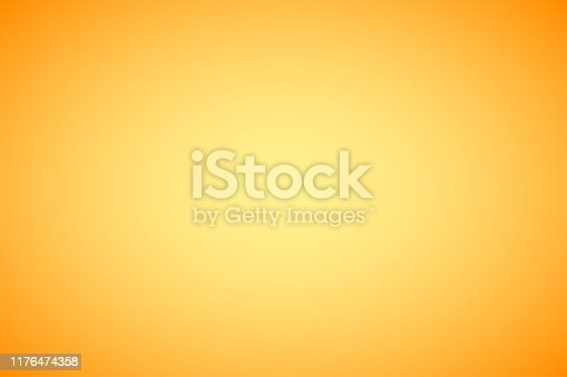 Orange abstract gradient background
