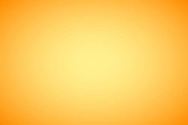 주황색 추상 그라데이션 배경 - 노랑 stock illustrations