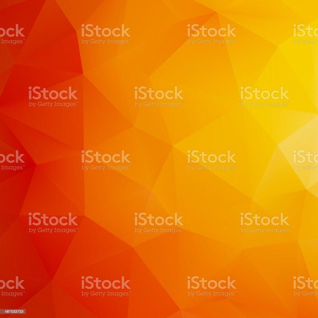 Orange Abstract Mesh Background. + EPS10 vector art illustration