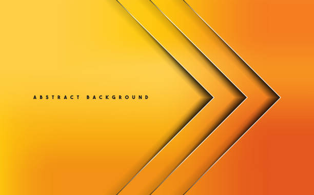 bildbanksillustrationer, clip art samt tecknat material och ikoner med orange abstrakt vector bakgrund - orange bakgrund
