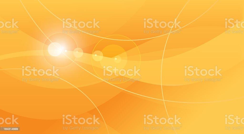 Orange background royalty-free stock vector art