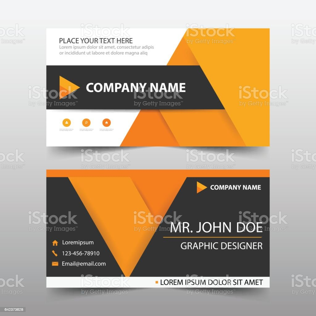 Orange black corporate business card header template flat design set orange black corporate business card header template flat design set royalty free orange black corporate colourmoves