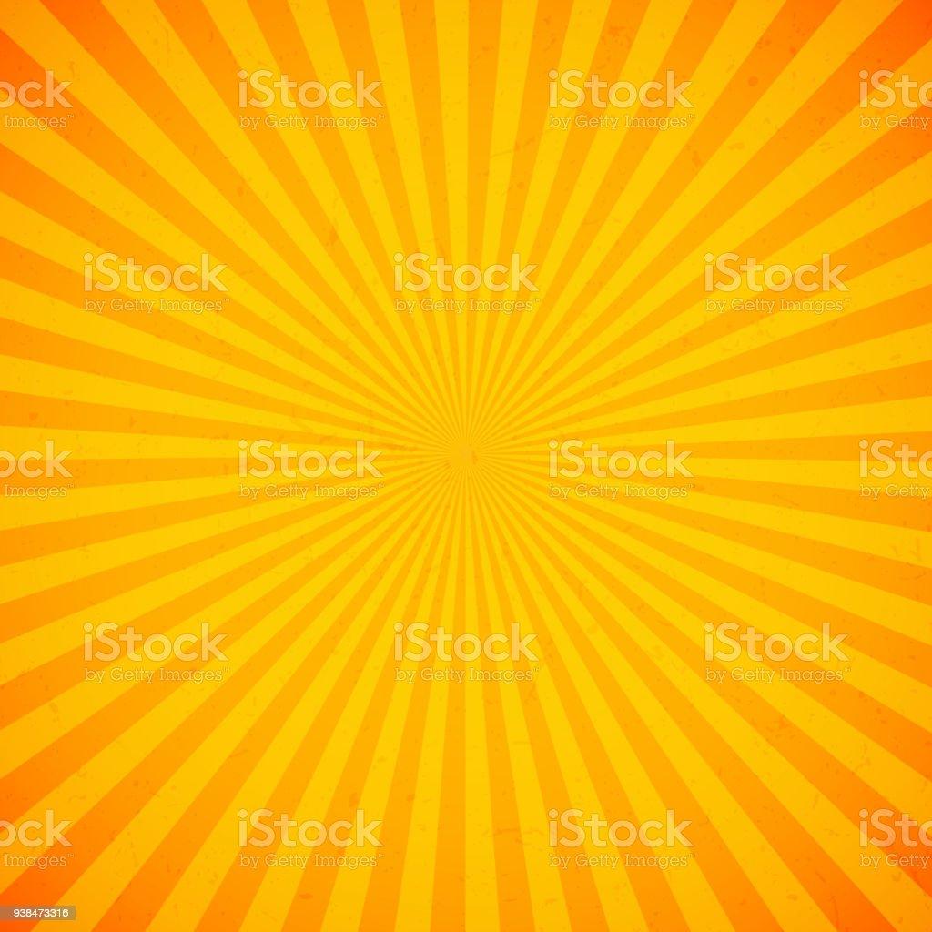 オレンジ色の明るい光線の背景 - しみのベクターアート素材や画像を多数