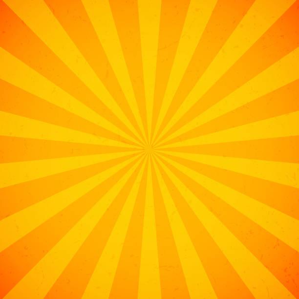 bildbanksillustrationer, clip art samt tecknat material och ikoner med orange ljus strålar bakgrund - orange bakgrund
