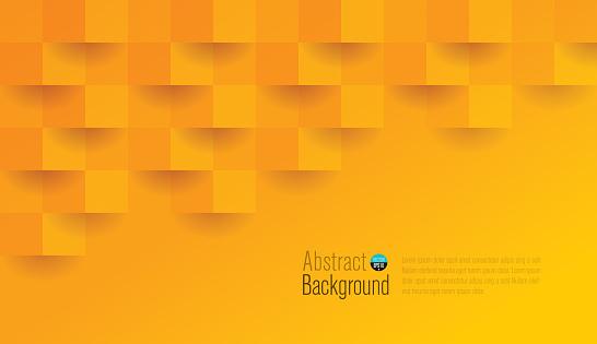 Orange Color Abstract Background Vector Stokovaya Vektornaya Grafika I Drugie Izobrazheniya Na Temu Abstraktnyj
